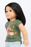Graphic Tee, Fall Collage - American Girl Doll Clothes