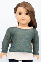 American Girl Doll Sparkle Sweater