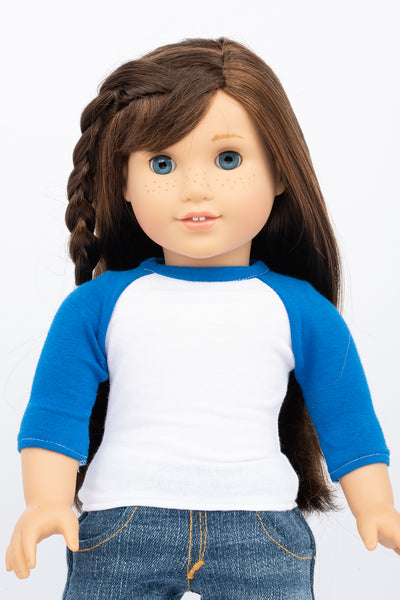 Raglan T-shirt - American Girl Doll Clothing