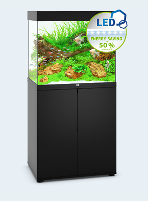 Juwel Lido 200 aquarium & cabinet set in black, the best quality aquariums