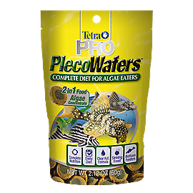 Tetra Pro Pleco Wafers 150g packet, Great Pleco food!