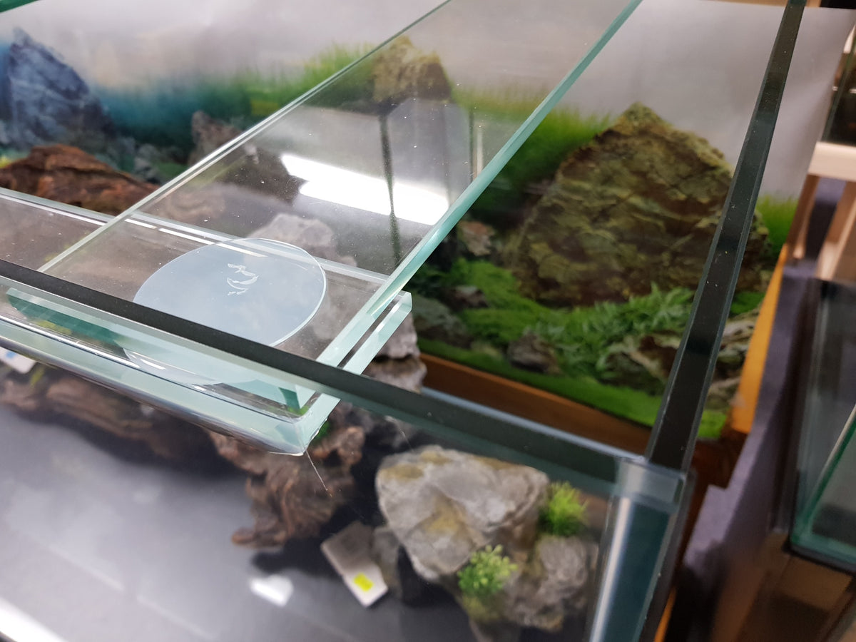 "4ft x 2ft x 28"" high aquarium in 12mm glass with polished edges all round"