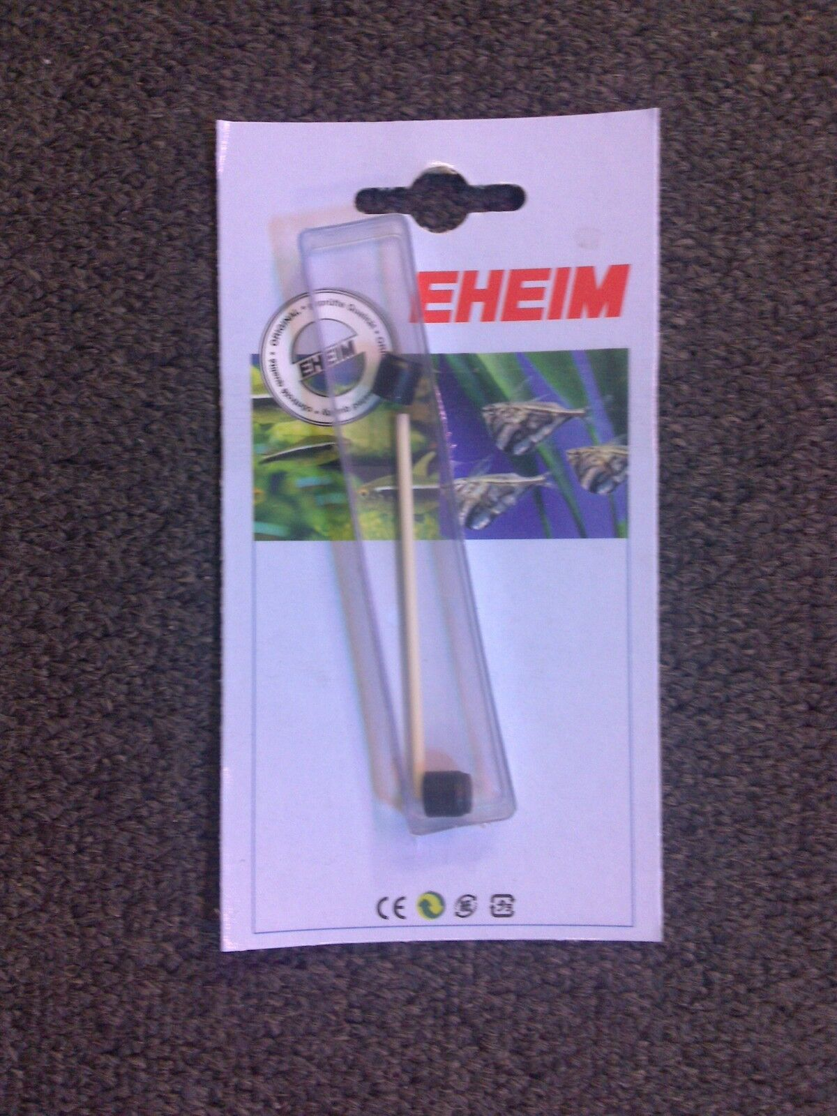 Eheim impeller shaft 7433720 to suit 1048, 2222 & 2224 Eheim filters