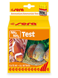 New Sera Ammonia NH3/NH4 testing kit