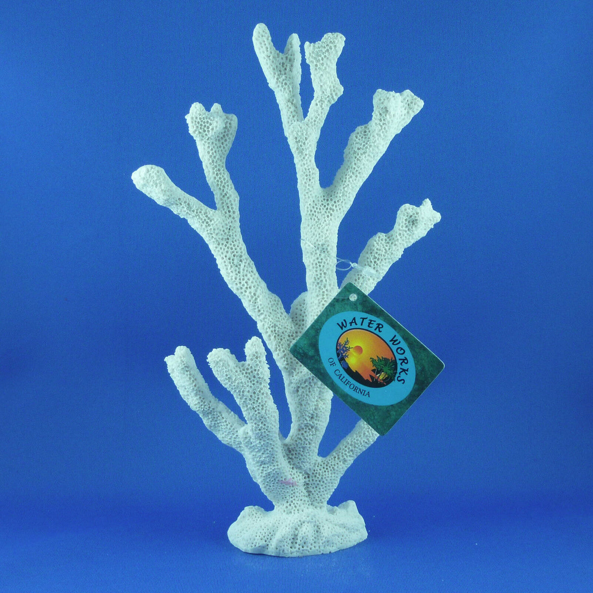 New Aquarium artificial medium coral tree in white