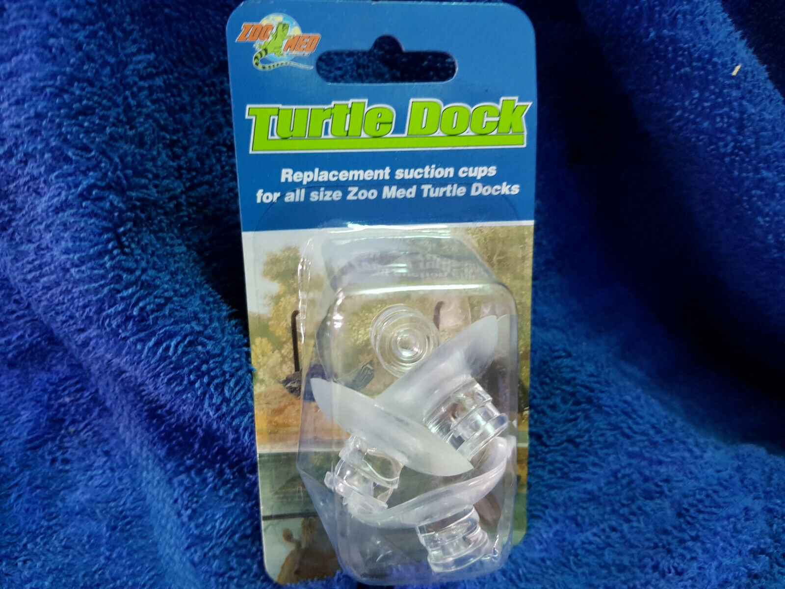 ZooMed Turtle Dock replacement suction cups, pack of 4