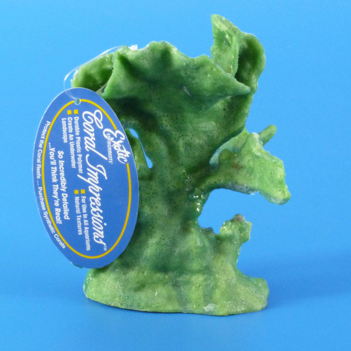 Exotic Blue Ridge Coral Aquarium Ornament
