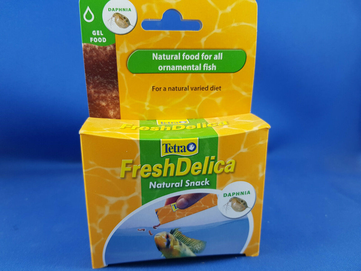 Tetra Fresh Delica Daphnia 16 x 3g , best fish treat food available!