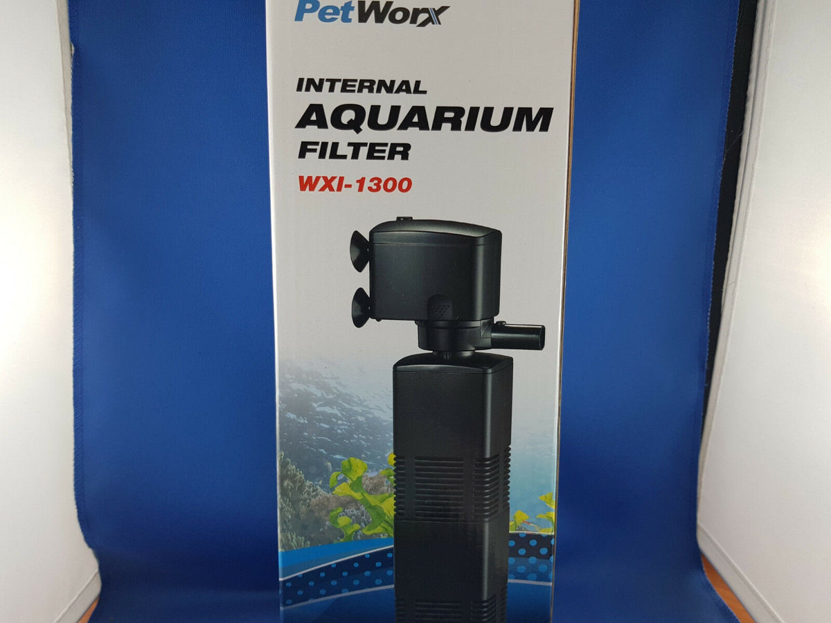 New Petworx Internal Filter with air inlet and 2 sponge filters 1300LPH