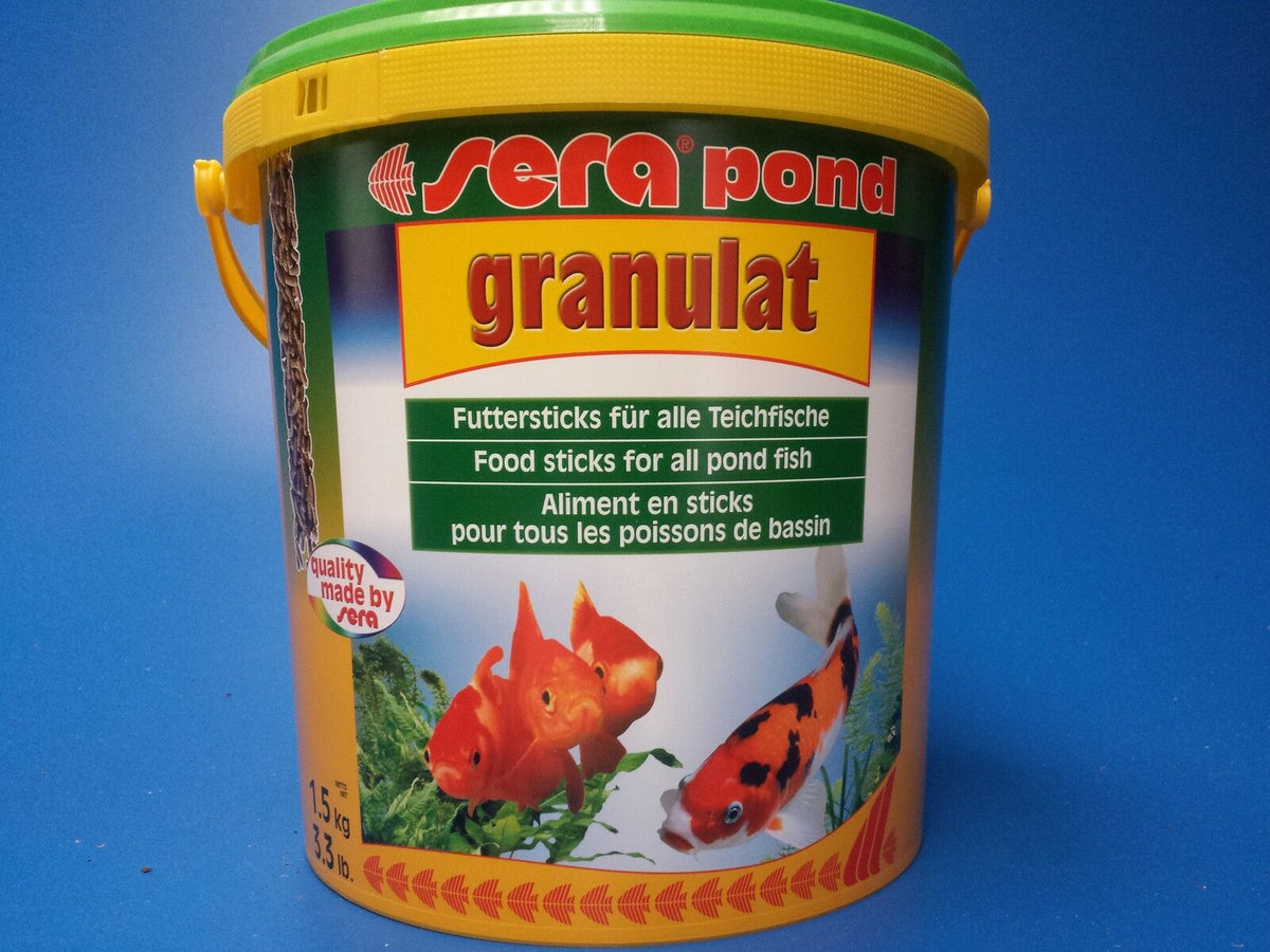 Sera Pond biogranulat Pellet Food 1.5kg