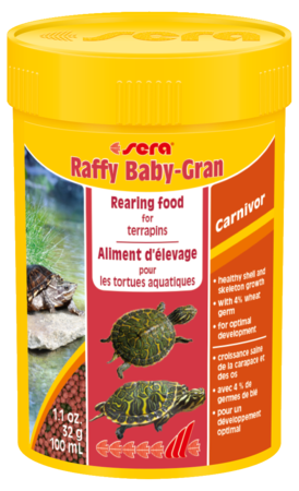 Sera Raffy Baby Gran reptile & turtle pellets 100ml