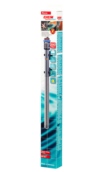 New Eheim Jager 200w Aquarium Heater, 3 year warranty!