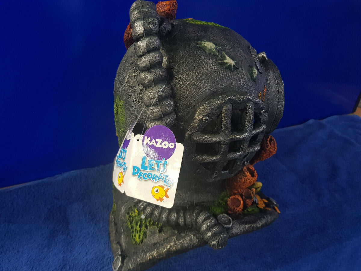 New Kazoo Diver's Helmet Extra large Aquarium Ornament