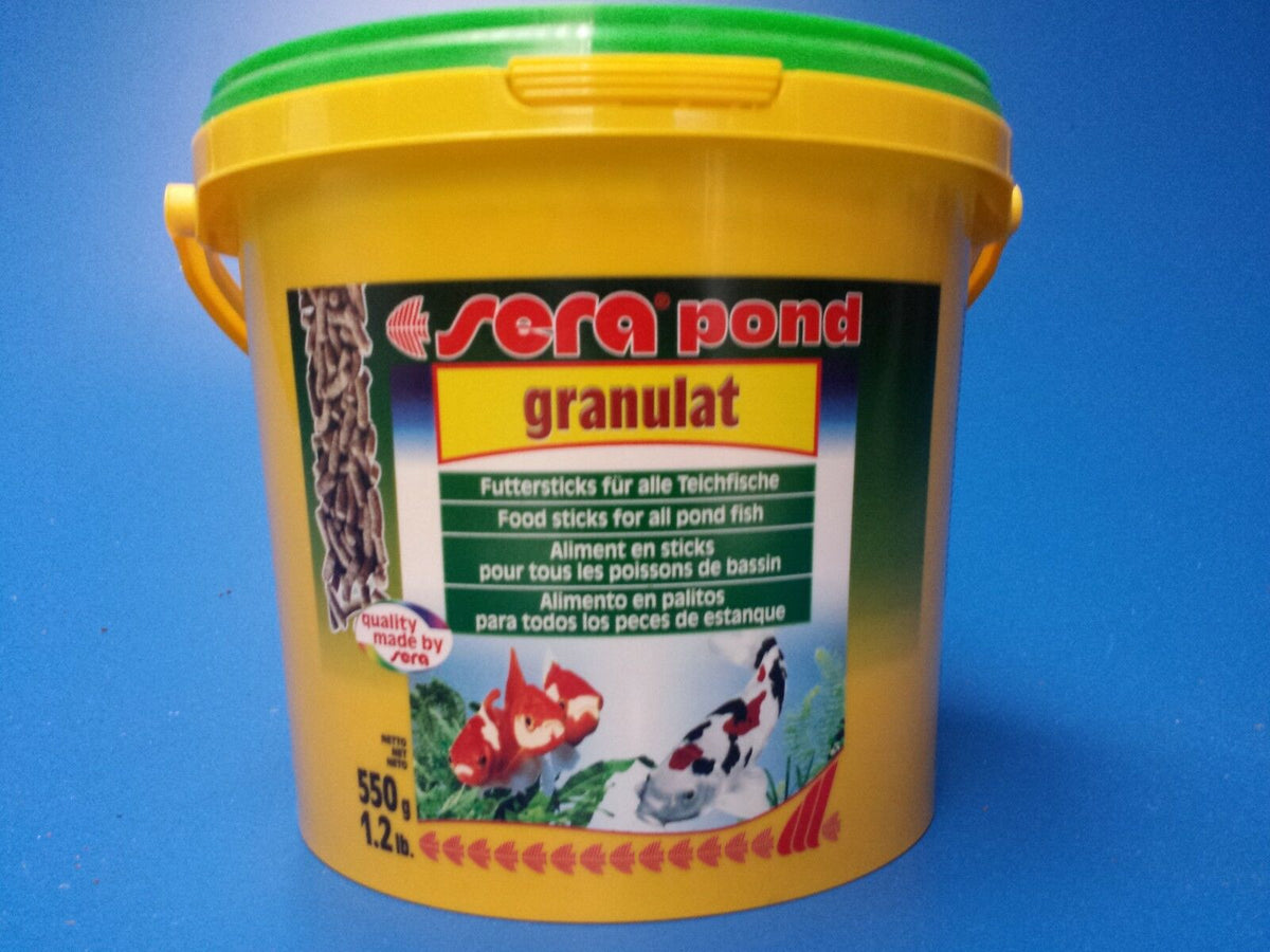 New Sera Pond biogranulat Pellet Food 550g, the best quality pond fish food!