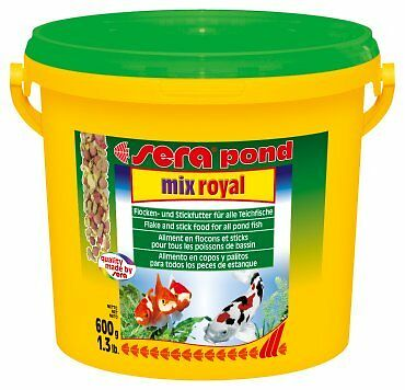 New Sera Pond Mix Royal Food 600g, the best quality pond fish food!