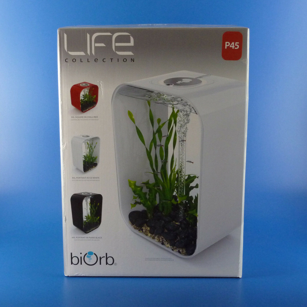 Reef One BiOrb life 45 in black Aquarium Set Up