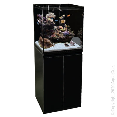 AquaOne Reefsys 180 reef aquarium, cabinet and sump. 180lt aquarium system