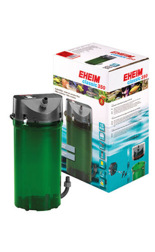 New Eheim External 2215 350 with Biological media and double taps
