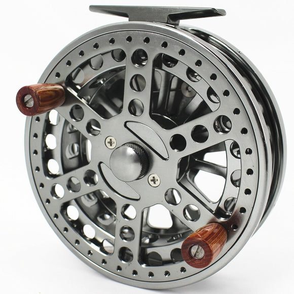 120MM 4 3//4 INCHES CNC MACHINED ALUMINUM CENTER PIN CENTREPIN FLOATING REEL