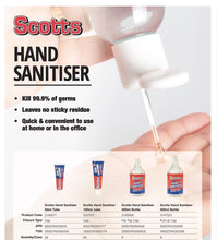 Load image into Gallery viewer, Scotts 50ml Hand Sanitiser - 48 Tubes per Carton Available Now! (MINIMUM ORDER 1 CARTON) SCOTTS50ML003-CTN