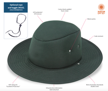 Load image into Gallery viewer, Back to School Sunsmart School PV hat (SPECIAL OFFER!). Pack of 10 MOQ. 4006-PK10.