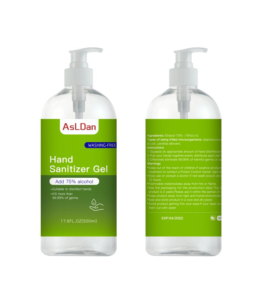 ASLDAN Hand Sanitiser 500ml (75% Alcohol) – 1 Carton of 20 Bottles Available Now (MIN ORDER is 1 CARTON) PUDA500001-CTN