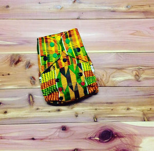 CocoaClassics Kente- Cocoa Shell cloth diaper Cover