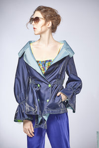Reversible Double-breasted Jacket