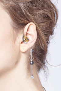 4 in 1 Curious Earring-Necklace