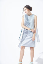 Load image into Gallery viewer, Asymmetric Over-layering Silky Dress