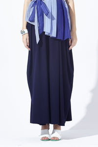 Waterfall Drapery Wide Leg Pants