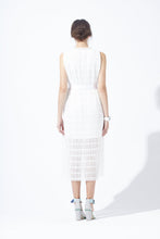 Load image into Gallery viewer, Lace Pleated Dress