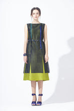 Load image into Gallery viewer, Meshy Silk Dress with Belt