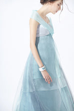 Load image into Gallery viewer, Silk Organza Evening Dress