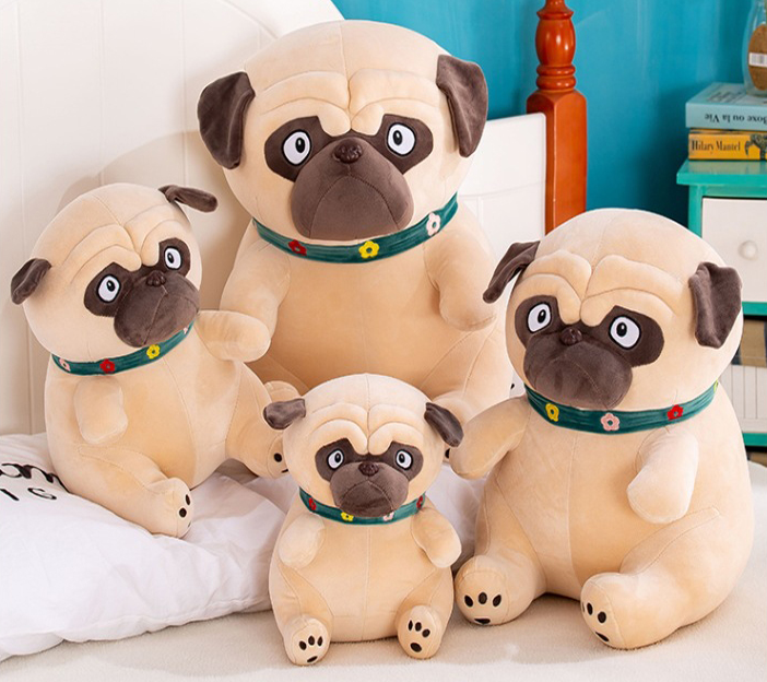 Pug Crazy Plush Pug Stuffed Animal