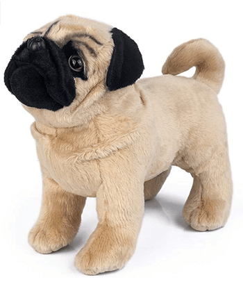 Pug Crazy Pug Plush Teddy Bear Stuffed Animal Toy