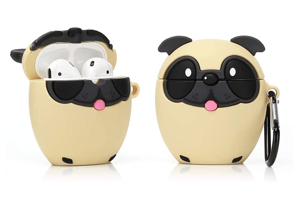 Pug Crazy™ Pug Dog Airpods Charging Case Cover