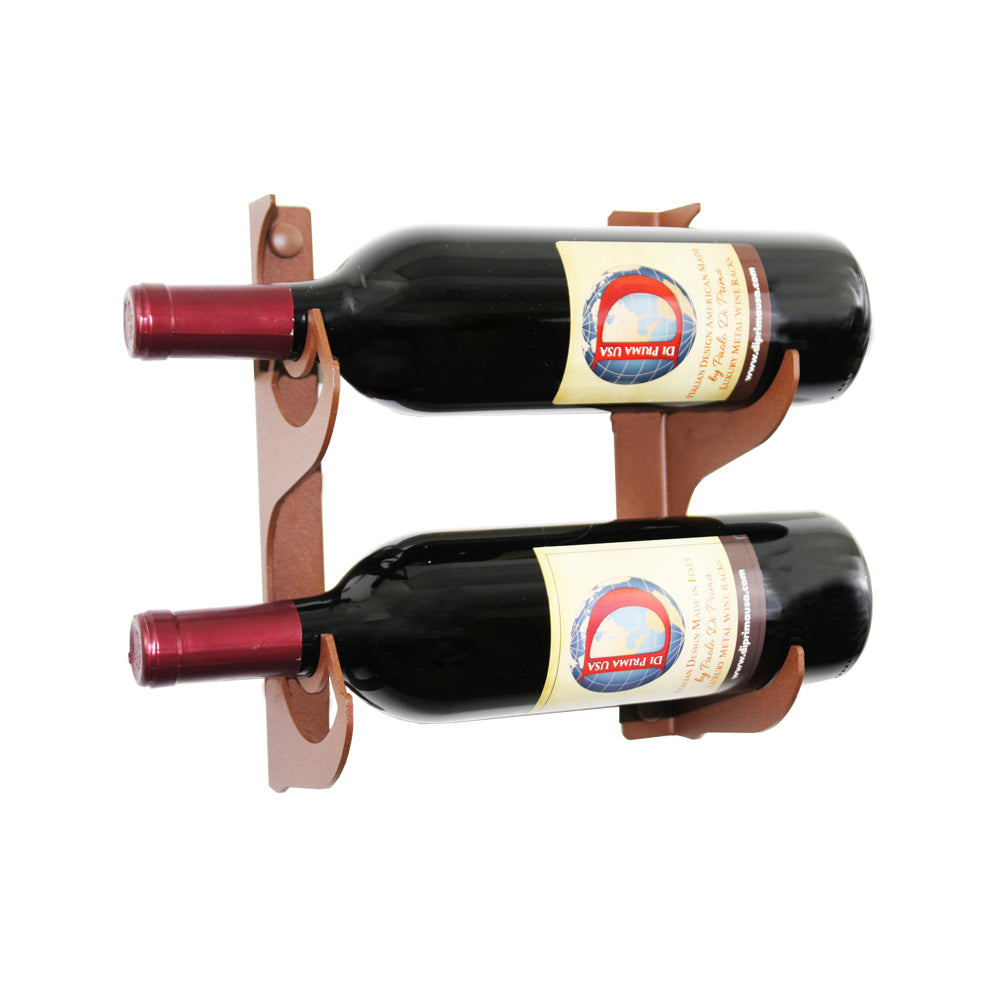 2 BOTTLE WINE RACK - 2 ROWS