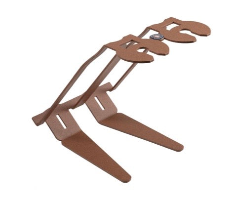 VENETIAN TABLE WINE RACK - CORTEN - MADE IN ITALY
