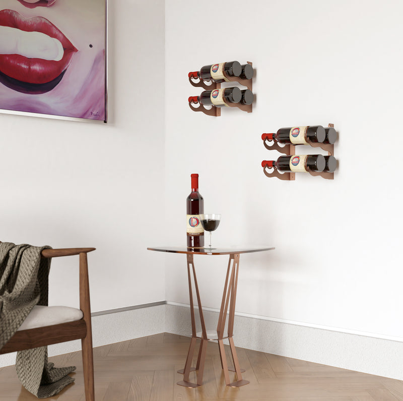 WR2004 - 4 BOTTLE WINE RACK