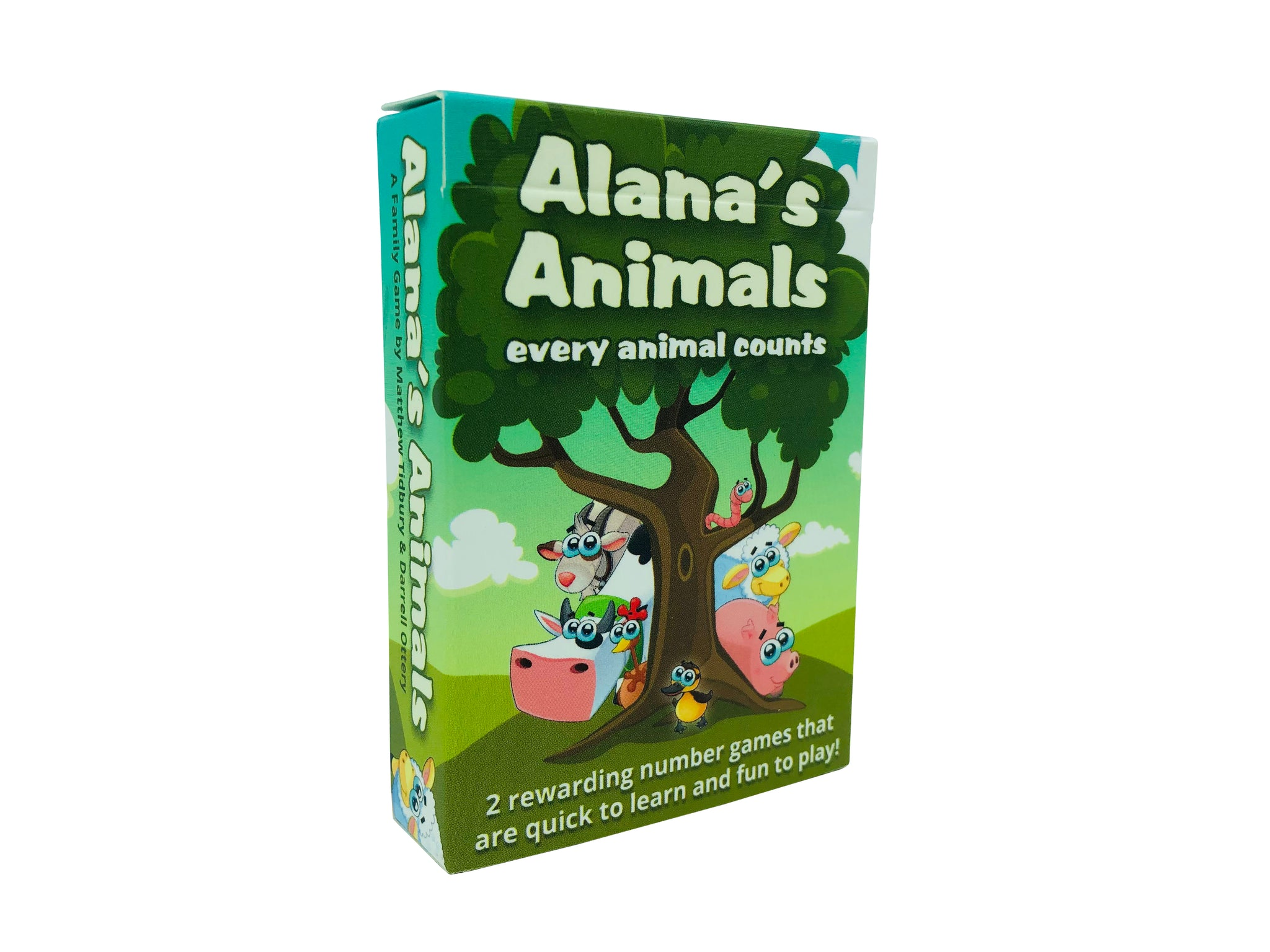 Alana's Animals: A Beginner's Counting and Math Game