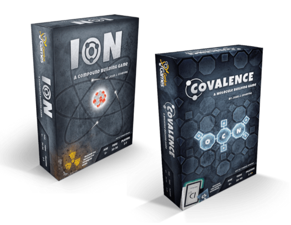 Chemistry Games | Ion and Covalence Science Card Games