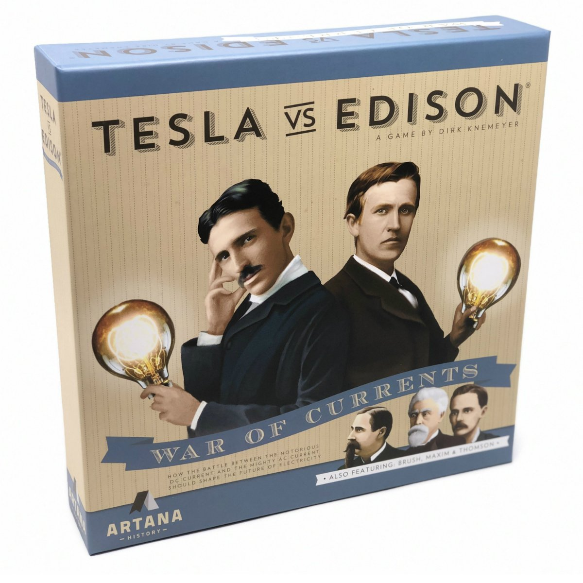 Tesla vs. Edison | War of Currents Board Game