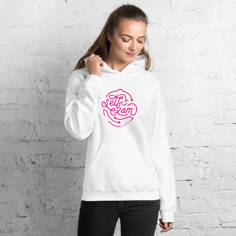Self-Exam Hoodie for Breast Cancer Awareness - Know Your Lemons Breast Cancer Awareness