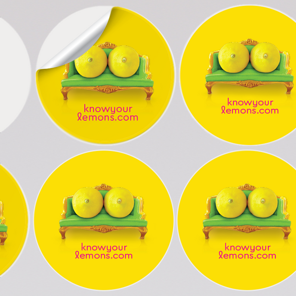 Know Your Lemons Breast Cancer Awareness Know Your Lemons Breast Cancer Awareness Materials