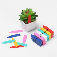 Charger l'image dans la galerie, 100PCS Greenhouse Waterproof Plants Seedling Label Garden Tools Classification Plastic Tags Marker Nursery Pot for Garden