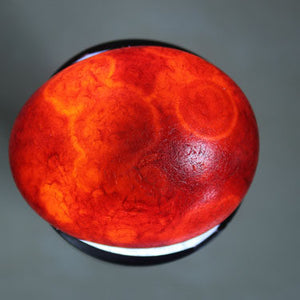 pierre naturelle et cristaux unique red agate sphere from Madagascar amazing high quality for special gift