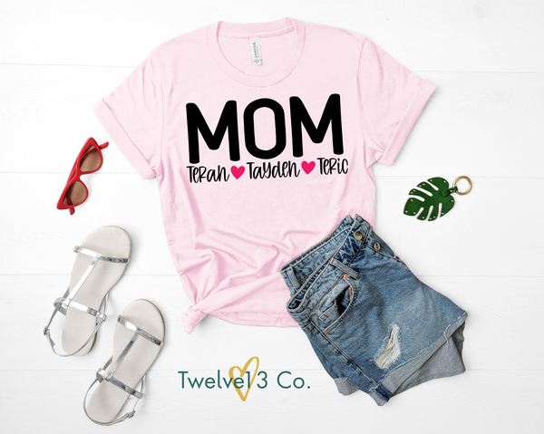 Personalized Mom Tees - Twelve13Co