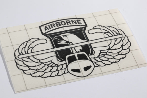 101st Airborne Air Assault vinyl decal