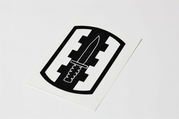 120th Infantry Bde vinyl decal